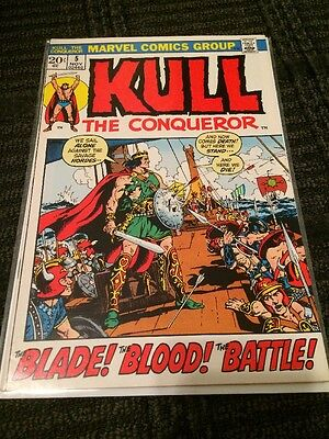 Kull the Conqueror #5 (Nov 1972, Marvel) NM-