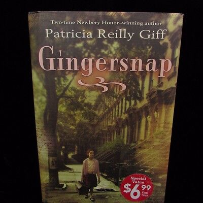 Gingersnap by Patricia Reilly Giff (2013, Hardcover)