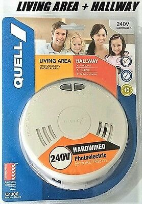 Quell Worry- Free Living area and Hallway smoke alarm (2 in 1)