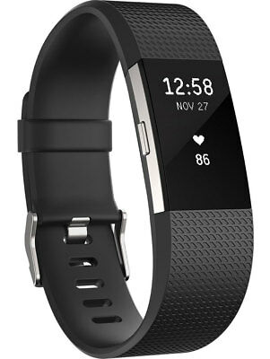 NEW FITBIT - FB407SBKS - Charge 2 Fitness Wristband Black - Small from Bing Lee