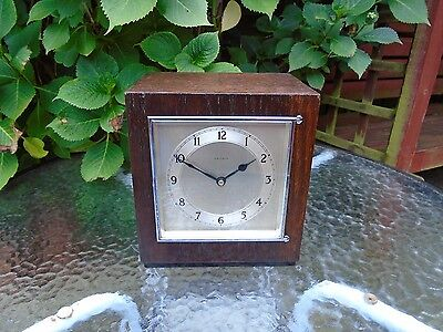 Garrard / Smith Sectric Rare Fully Restored Westminster Chime Electric Clock..