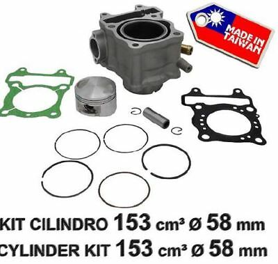 Fm Kit Cilindro Pistone Per Honda Sh 150 58Mm Art. Kc 02008