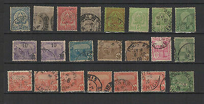 TUNISIE RF 22 timbres anciens / T1502