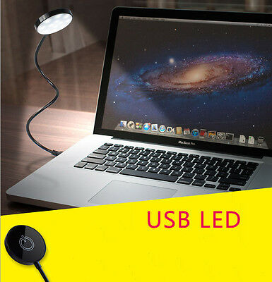MINI USB 12 LED Light Flexible Bright PC Computer Laptop Notebook Portable Lamp