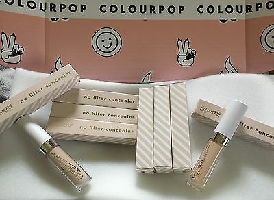 100% GENUINE COLOURPOP No Filter Matte Full Coverage Creaseless Concealer!