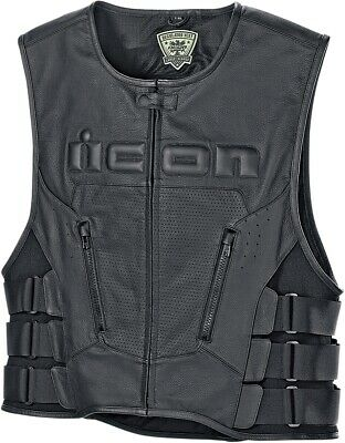 NEW ICON Regulator D30 Vest MOTORCYCLE CLUB CRUISER SPORT