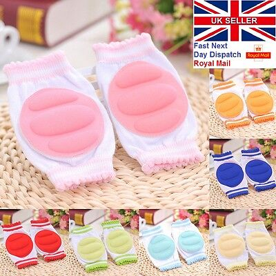 Kids Safety Crawling Elbow Cushion Infants Toddlers Baby Knee Pad Protector UK