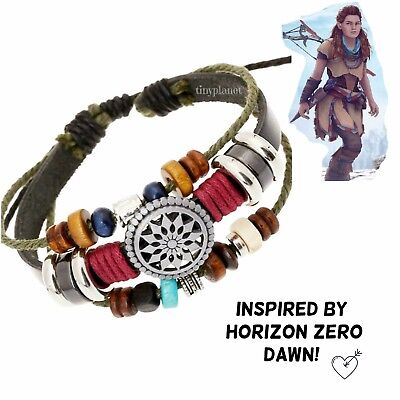 Horizon Zero Dawn Aloy Nora Tribal Inspired Bracelet Gaming Jewelry Handmade