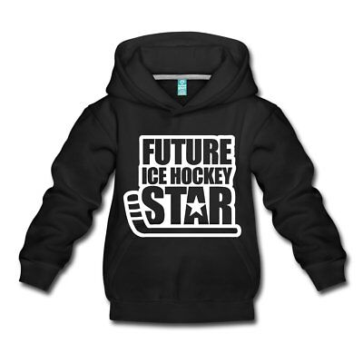 Future Ice Hockey Star Kinder Premium Hoodie von Spreadshirt®