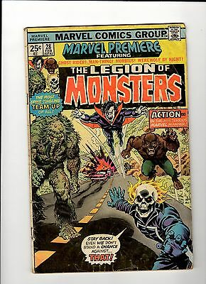 The Legion of Monsters #28 Marvel Comics, Ghost Rider, Man-Thing, Morbius,