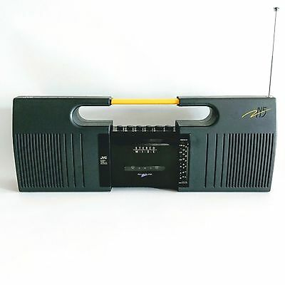 JVC RC-N5 Radio Cassette Tape Recorder Extendable 3D-BIPHONIC Boombox FAULTY