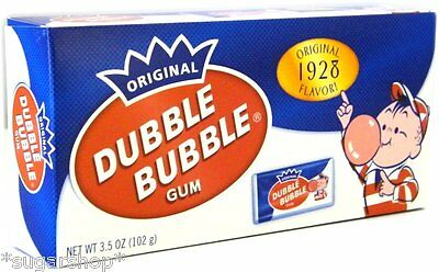 Dubble Bubble Gum Theater Box pack 1928 with comics 2 PACK, HIGH DEMAND