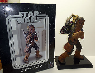 STAR WARS Gentle Giant CHEWBACCA with C-3PO Statue - Empire Strikes Back 2004