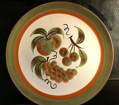 """Stangl """"Orchard Song"""" Chop Plate/Platter 12 3/4"""" -"""