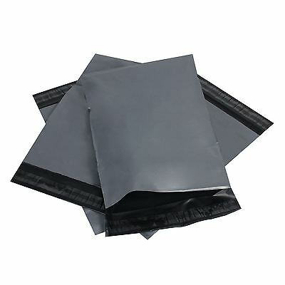 """20 GREY 15""""x18"""" MAILING SELF SEAL BAGS POLY POSTAL POSTAGE PACKAGING MAILERS BAG"""