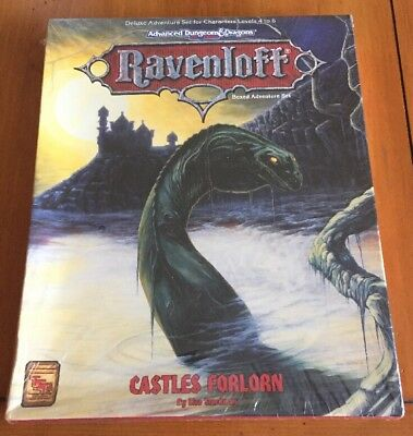 Ravenloft Castle Forlorn Boxed Advanced Dungeons & Dragons AD&D 1088 TSR