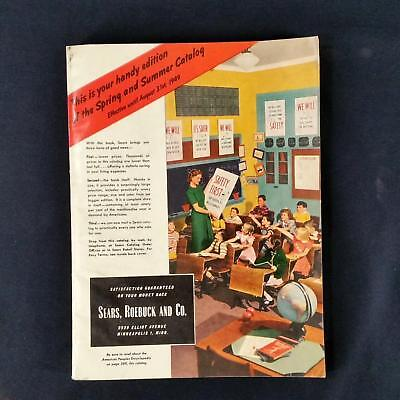 Sears Roebuck and Co 1949 Spring Summer Handy Edition Catalog Vintage 396pgs