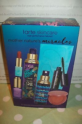 Tarte 'Mother Nature's Miracles' discovery 7 piece skin & makeup set new & boxed