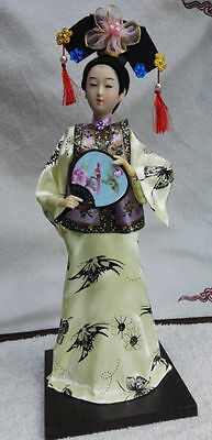 Oriental Broider Doll,Old figurine china Dynasty princess dolls statue