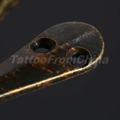 Antique Wall Door Hooks Vintage Robe Clothes Coat Hat Bag Towel Bath Hanger 5Pcs