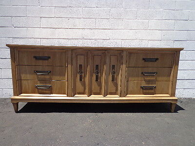 Dresser Mid Century Modern Console Table Mcm Chest Of Drawers