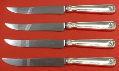 Shell and Thread by Tiffany & Co. Sterling Silver Steak Knife Set 4pc Lrg Custom