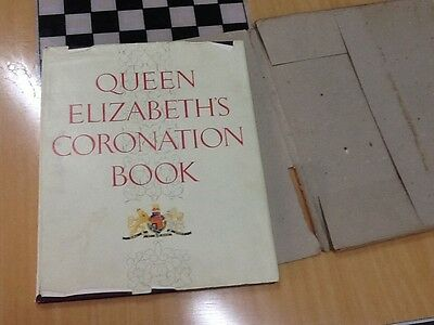 Queen Elizabeth's Coronation Book.Set up and published in Australia (#1)