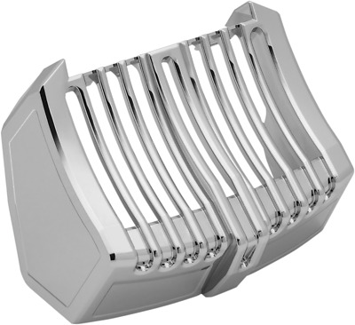 Kuryakyn Oil Cooler Cover Chrome 6417
