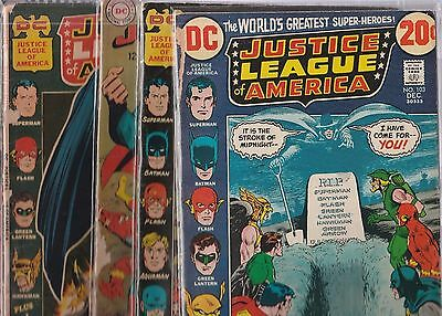 Justice League of America Lot of 5 Issues #'s 43,63, 86,96,103