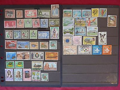 Jamaica stamps 1900 - 1977