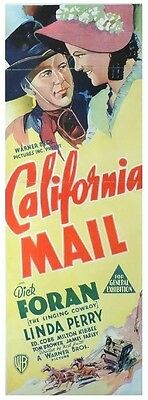 California-Mail-Dick-Foran-RARE-Western.