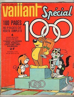 VAILLANT n°997 ¤ 1964 ¤ SPECIAL n°1000 ¤  PIF / LES CINQ AS / DAVY CROCKET