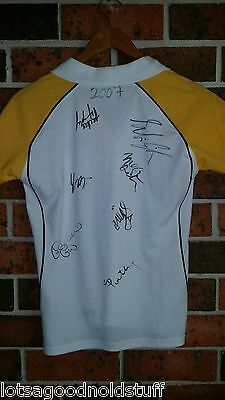 Sydney Swifts 2007 Signed Netball Shirt