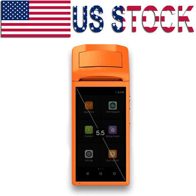 Handheld Wireless Bluetooth Printer POS Thermal Receipt Touch Screen USB Android