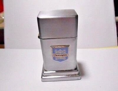 Vintage 1970's Zippo Barcroft Table Lighter  Deansgate Manchester - Donald Kline