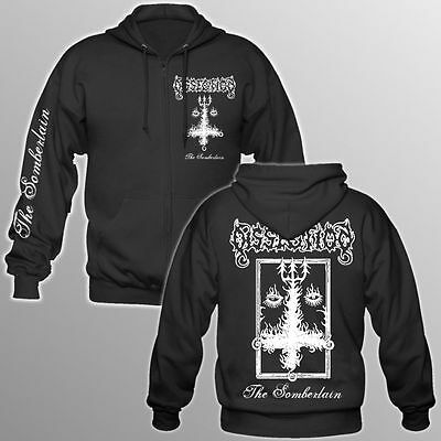 Dissection - The Somberlain - Hooded Zipper/Jacke (Watain, Emperor, Necrophobic)