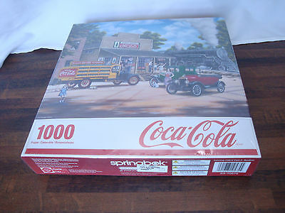 NEW 1000 Piece Coca Cola Puzzle  ALL ABOARD