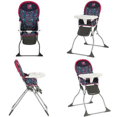 Foldable Feeding Eating Baby safe Seat Baby High Chair Child Toddler Simple Fold