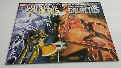 ANNIHILATION HERALDS OF GALACTUS #1 2 Connecting Covers Dell'Otto VF/NM