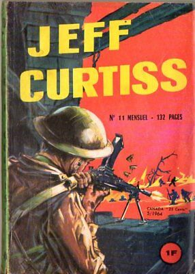 ~+~ JEFF CURTISS n°11 ~+~ 1964 ~+~ EDI EUROP