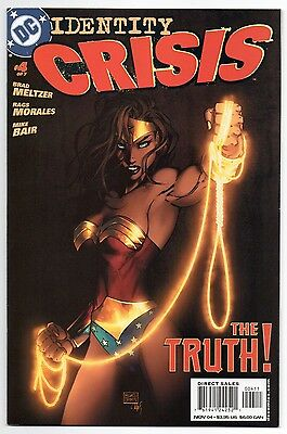 IDENTITY CRISIS #4 | 1st Print | Michael Turner | Wonder Woman cover | 2004 | NM