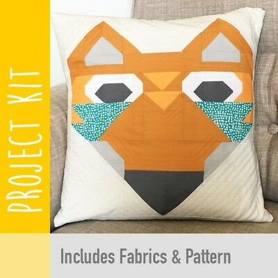 Patchwork Kit Fox Cushion Kit - Fabric and Pattern