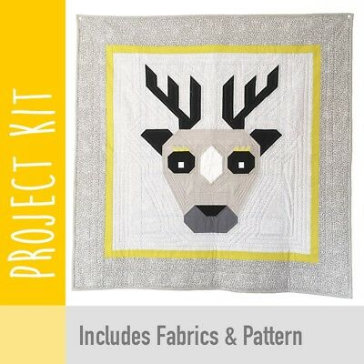 Patchwork Kit Epic Deer Baby Quilt Kit - Fabric and Pattern