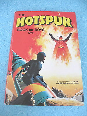 D C Thomson    The Hotspur Book For Boys    1975
