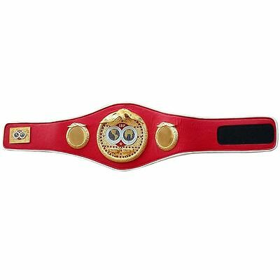IBF Championship Boxing Belt Replica Adult Size Synthetic Leather