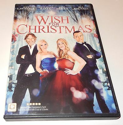 Wish for Christmas Joey Lawrence Anna Fricks Bill Engvall (DVD, 2016) WS