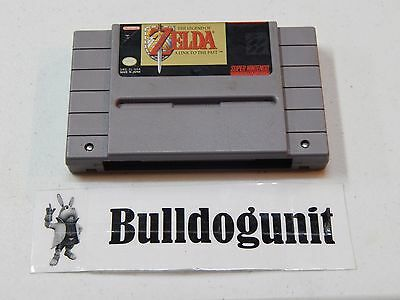 The Legend of Zelda A Link to the Past Super Nintendo SNES Game Cartridge