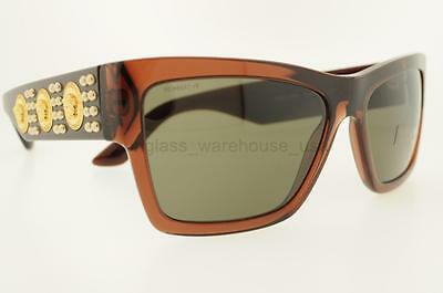 d98ab121c1a99 NEW VERSACE 4289 Sunglasses GB1 87 Black 100% AUTHENTIC -  164.99 ...