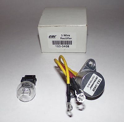 3 Wire Rectifier 153-3408 CDI Electronics - NEW In Box