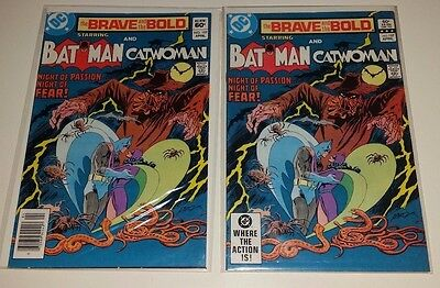 BRAVE AND THE BOLD #197 (2 Copies) Catwoman Batman Marriage (17 Comics) Signed